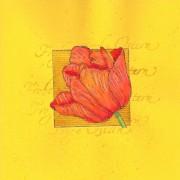 Frohe Ostern Tulpe II