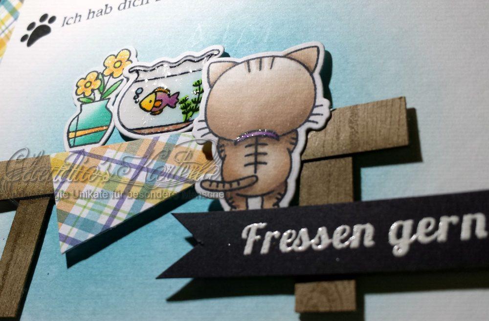 Zum Fressen gern   Freundschaftskarte