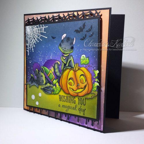 Magische Halloween-Grüsse | Grusskarte