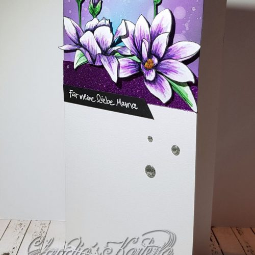 Magnolie auf Bokeh | Muttertagskarte