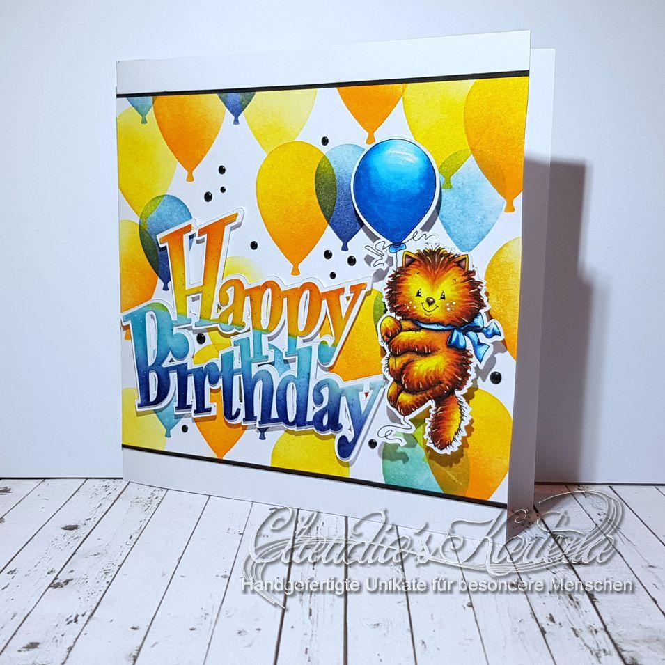 Ein kleiner Geburtstagstiger | Geburtstagskarte