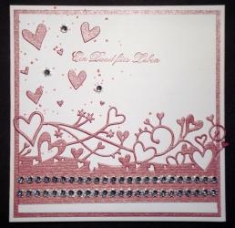Wünsche Zur Hochzeit Karte.Beste Wünsche Zur Hochzeit Brautpaar Hochzeitskarte Claudia S